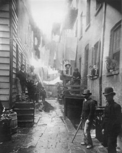 Bandit's Roost (1888) by Jacob Riis